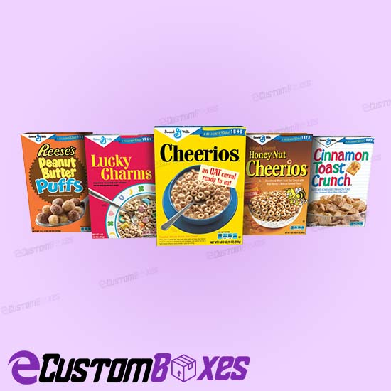 Custom Cereal Boxes